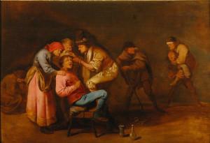 Una interesante pintura de Pieter Quast localizada en el coleccionismo madrileño