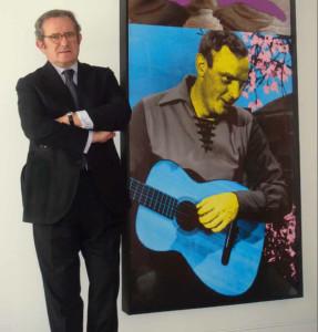 Victorino Rosón: «Mi apuesta es el arte emergente»