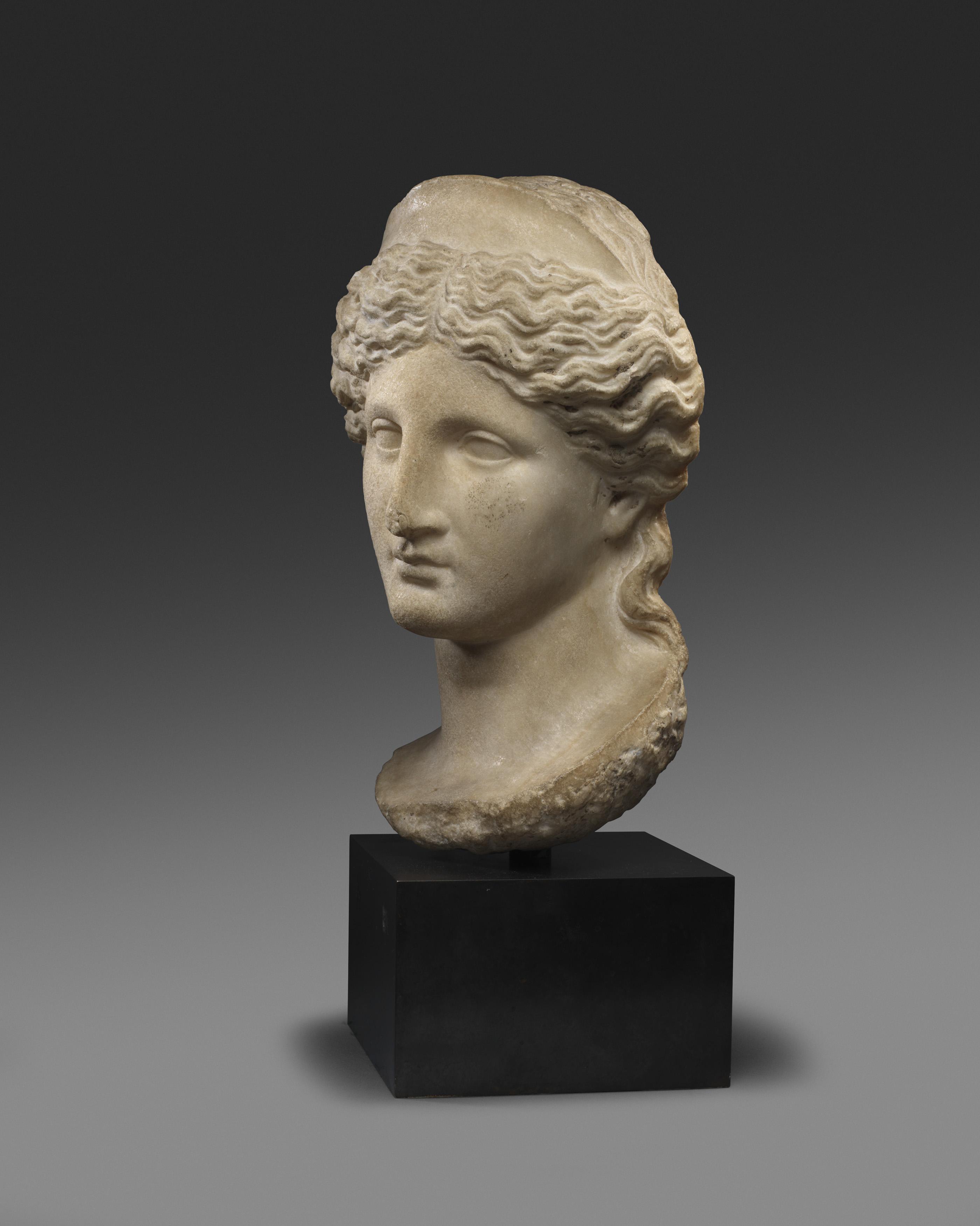 Afrodita con diadema