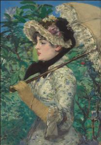 'La Primavera' de Manet, al Getty