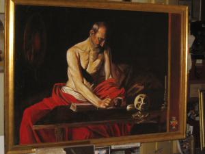 El sacerdote maltés y el Caravaggio robado