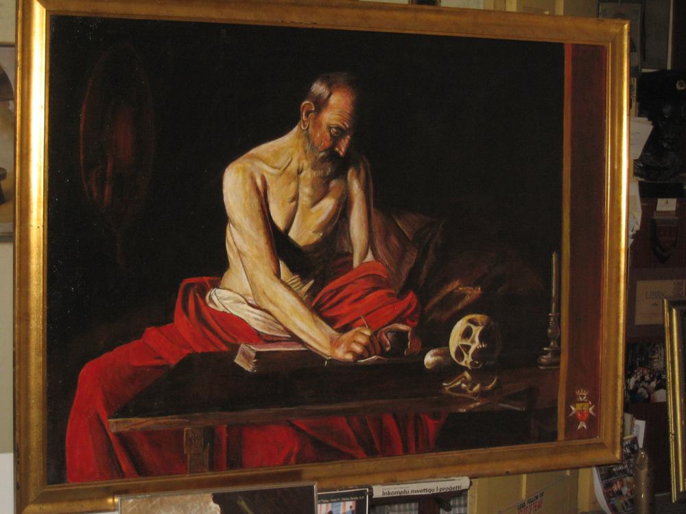 El Caravaggio secuestrado en Malta