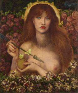 El único desnudo de Dante Gabriel Rossetti