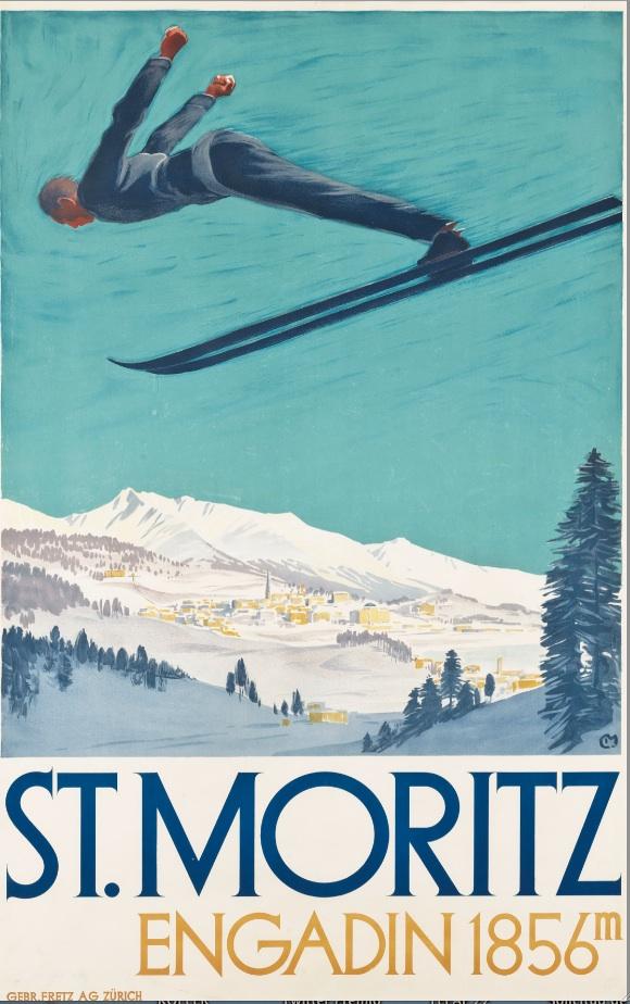 Carteles Vintage de Christie's South Kensington organiza su venta anual dedicada al esquí