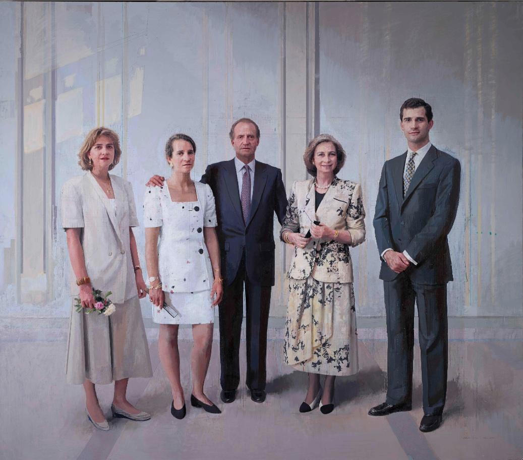 Antonio López. La familia de Juan Carlos I