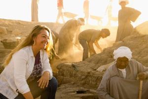 Myriam Seco, una española en la corte del faraón