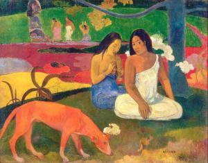 La Arcadia de Gauguin