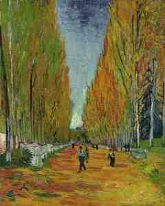 La arboleda perdida de Van Gogh