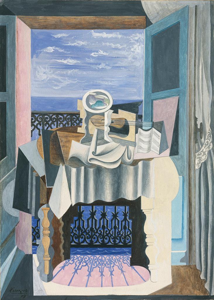Pablo Picasso, Naturaleza muerta frente a una ventana