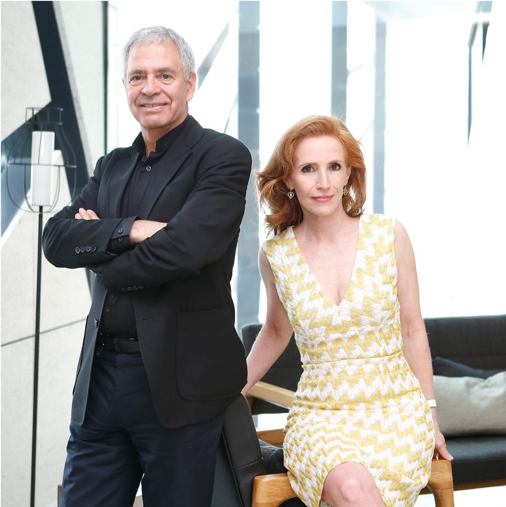 Sylvain y Dominique Lévy