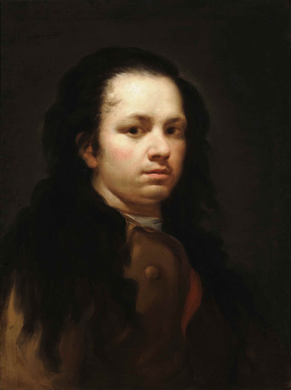 Autorretrato, Francisco de Goya y Lucientes, c. 1775