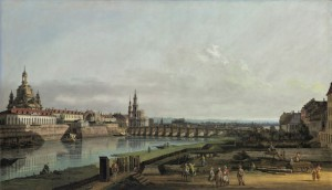 Dresde visto por Bellotto