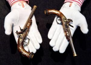 Las pistolas del 'rey de Roma'