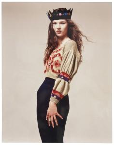 El debut de Kate Moss