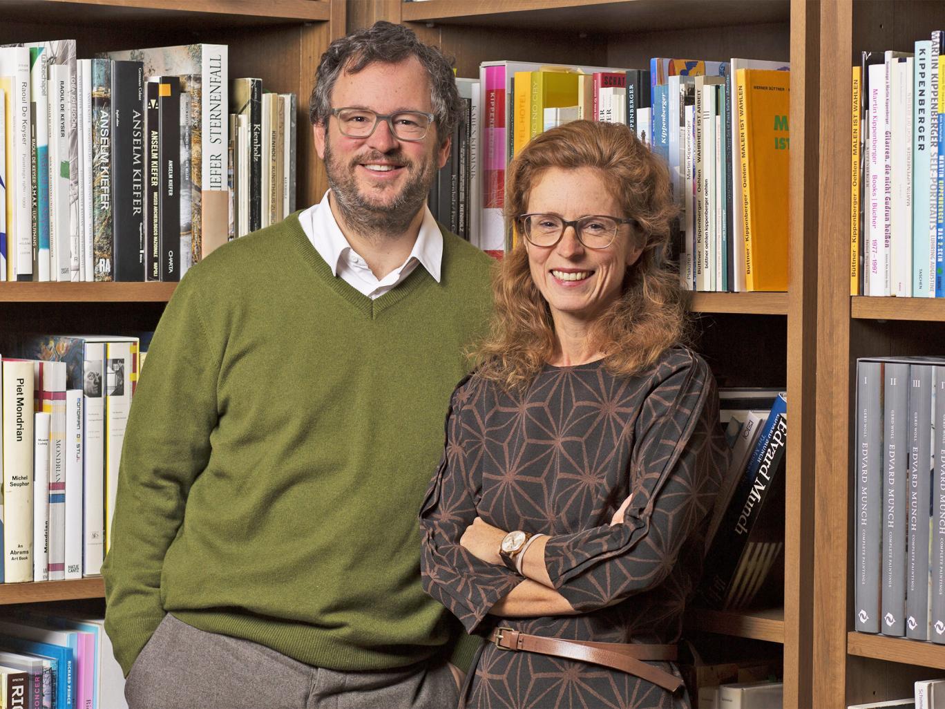 Iwan y Manuela Wirth