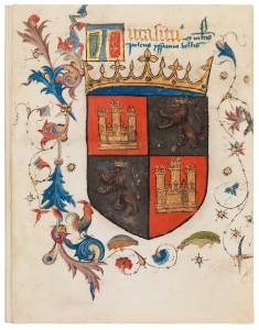 Un extraordinario manuscrito español a la venta en Frieze Masters