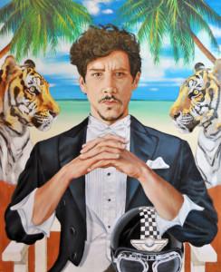 Óscar Jaenada: pasión por el arte contemporáneo