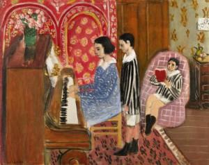 Preciadas pinceladas musicales de Matisse