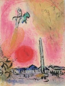 Chagall en papel – Fundación Canal, Madrid. Hasta el 10 de abril