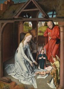Dorotheum subasta una Natividad del taller de Hans Memling