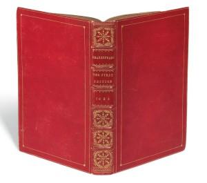 A subasta el Primer Folio de Shakespeare