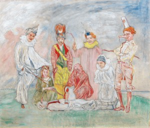 La mascarada de James Ensor