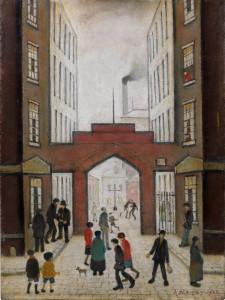 Lowry, pintor de la clase trabajadora