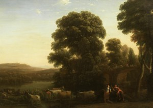 Bonhams saca a pujas un bucólico paisaje de Claudio Lorena
