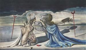 Colosal telón de Dalí