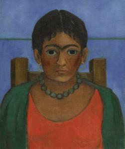 Redescubierta una obra temprana de Frida Kahlo