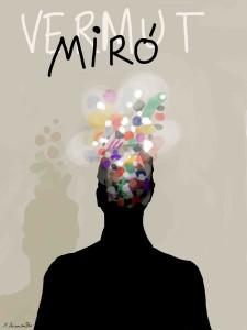 Vermuts Miró con el arte