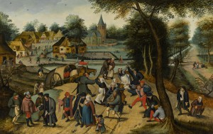 De fiesta con Pieter Brueghel el Joven