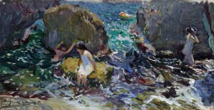 Sorolla ilumina la subasta de Pintura Española de Sotheby's