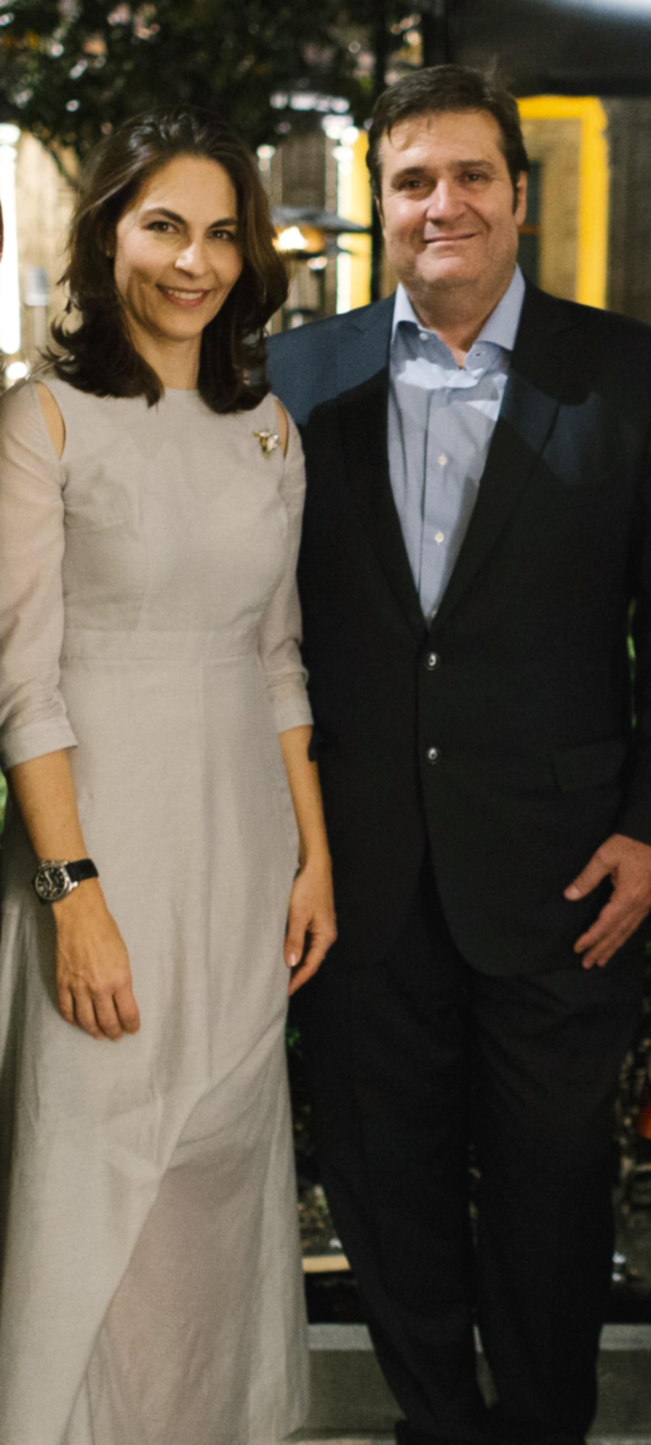 Agustín e Isabel Coppel