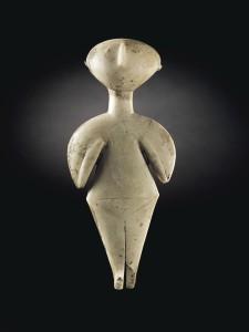 La observadora de las estrellas, un ídolo prehistórico