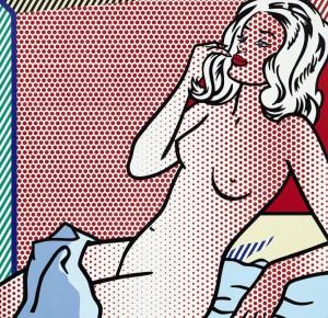 Desnudo crepuscular de Lichtenstein