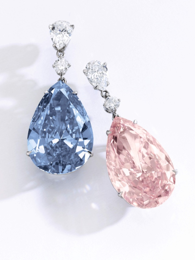 Sothebys. The Apollo and Artemis Diamonds