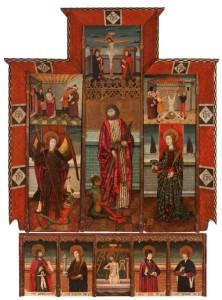 Un retablo gótico catalán ilumina Setdart