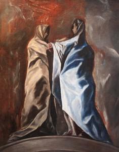 """Una posible """"Visitación"""" de El Greco en Toledo"""