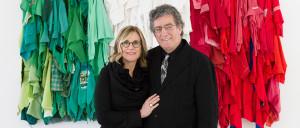 Nancy Olnick y Giorgio Spanu: la conexión italiana