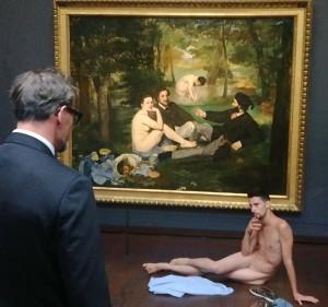 Desnudo por amor a Venus