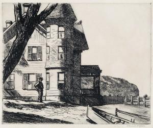 Hopper, la soledad era esto