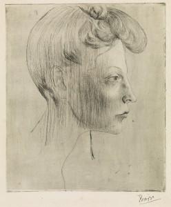 Un joven Picasso en Swann Galleries