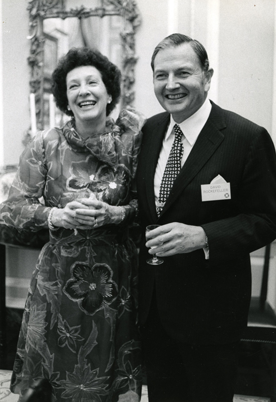 David-Rockefeller-and-Peggy-Arthur-Lavine-photo-1