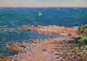 Monet y el mediterráneo