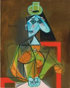 Dora Maar, vista por Picasso