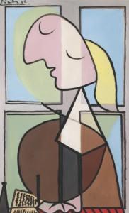 Picasso y Marie-Thérèse, un idilio imperecedero