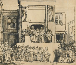La última punta seca de Rembrandt