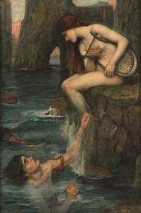 La sirena prerrafaelita
