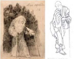 Las vidas paralelas de Goya y Hokusai